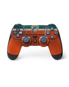 Miami Dolphins Vintage PS4 Controller Skin