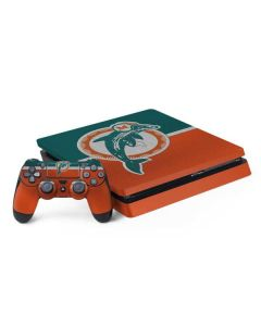 Miami Dolphins Vintage PS4 Slim Bundle Skin