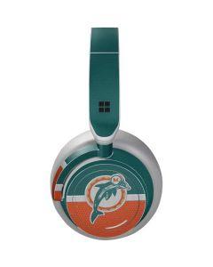 Miami Dolphins Vintage Surface Headphones Skin