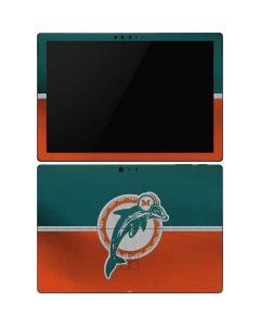Miami Dolphins Vintage Surface Pro 6 Skin