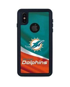 Miami Flag Design iPhone X Waterproof Case
