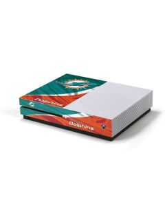 Miami Flag Design Xbox One S Console Skin
