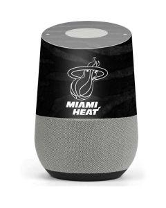 Miami Heat Black Animal Print Google Home Skin