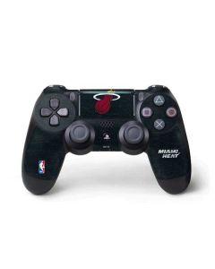 Miami Heat Black Partial Logo PS4 Pro/Slim Controller Skin