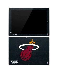 Miami Heat Black Partial Logo Surface Pro 3 Skin