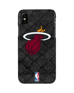 Miami Heat Dark Rust iPhone XS Lite Case