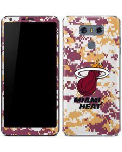 Miami Heat Digi Camo LG G6 Skin