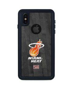 Miami Heat Hardwood Classics iPhone XS Waterproof Case