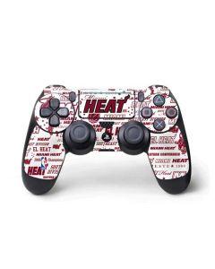 Miami Heat Historic Blast PS4 Pro/Slim Controller Skin