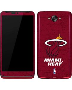 Miami Heat Red Primary Logo Motorola Droid Skin