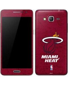 Miami Heat Red Primary Logo Galaxy Grand Prime Skin