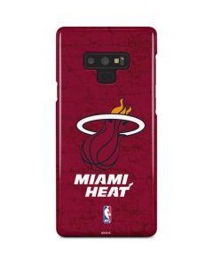 Miami Heat Red Primary Logo Galaxy Note 9 Lite Case