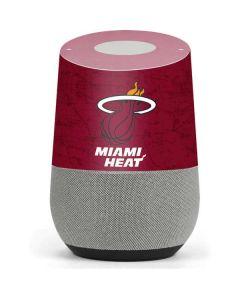 Miami Heat Red Primary Logo Google Home Skin