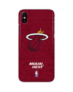 Miami Heat Red Primary Logo iPhone X Lite Case