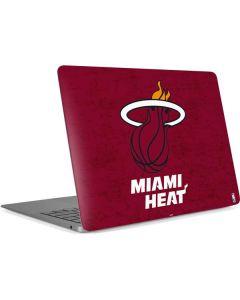 Miami Heat Red Primary Logo Apple MacBook Air Skin