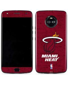 Miami Heat Red Primary Logo Moto X4 Skin