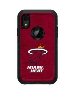 Miami Heat Red Primary Logo Otterbox Defender iPhone Skin