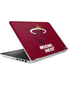 Miami Heat Red Primary Logo HP Pavilion Skin