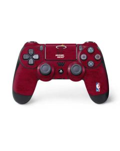 Miami Heat Red Primary Logo PS4 Controller Skin
