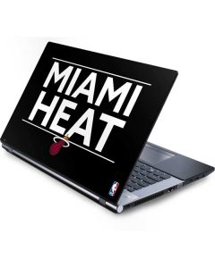 Miami Heat Standard - Black Generic Laptop Skin