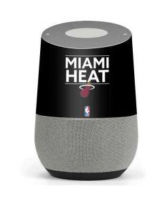 Miami Heat Standard - Black Google Home Skin