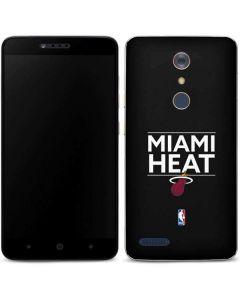 Miami Heat Standard - Black ZTE ZMAX Pro Skin