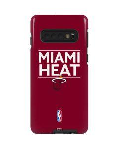 Miami Heat Standard - Red Galaxy S10 Pro Case