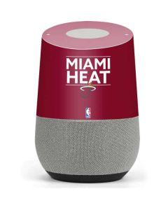 Miami Heat Standard - Red Google Home Skin