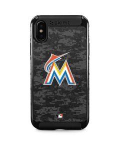 Miami Marlins Digi Camo iPhone XS Max Cargo Case