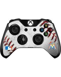 Miami Marlins Game Ball Xbox One Controller Skin