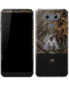 Miami Marlins Realtree Xtra Camo LG G6 Skin