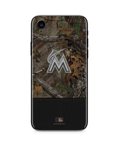 Miami Marlins Realtree Xtra Camo iPhone XR Skin