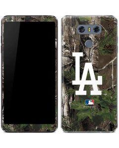 Los Angeles Dodgers Realtree Xtra Green Camo LG G6 Skin