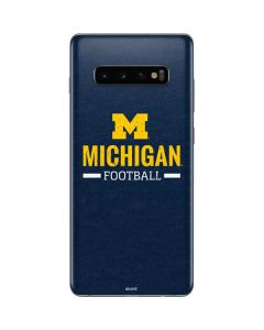 Michigan Football Galaxy S10 Plus Skin