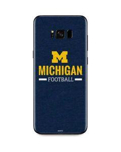 Michigan Football Galaxy S8 Skin