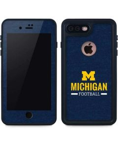 Michigan Football iPhone 8 Plus Waterproof Case
