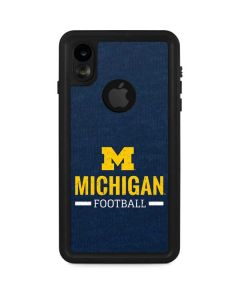 Michigan Football iPhone XR Waterproof Case