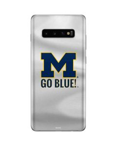 Michigan Go Blue Galaxy S10 Plus Skin