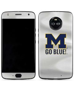 Michigan Go Blue Moto X4 Skin