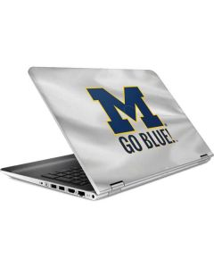 Michigan Go Blue HP Pavilion Skin