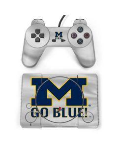 Michigan Go Blue PlayStation Classic Bundle Skin