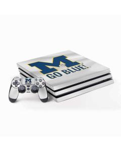 Michigan Go Blue PS4 Pro Bundle Skin