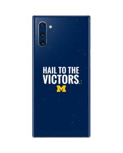 Michigan Hail to the Victors Galaxy Note 10 Skin