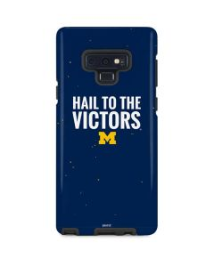 Michigan Hail to the Victors Galaxy Note 9 Pro Case