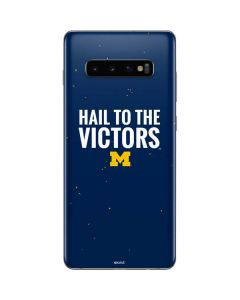 Michigan Hail to the Victors Galaxy S10 Plus Skin