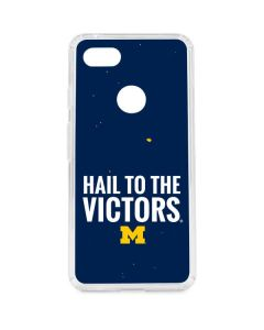 Michigan Hail to the Victors Google Pixel 3 XL Clear Case