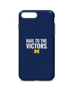 Michigan Hail to the Victors iPhone 8 Plus Pro Case