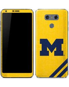 Michigan Large Logo LG G6 Skin