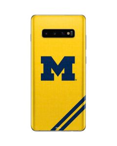 Michigan Large Logo Galaxy S10 Plus Skin