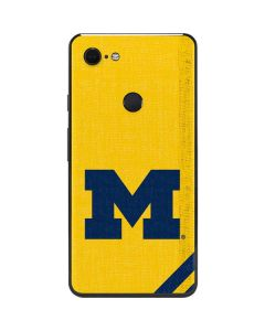 Michigan Large Logo Google Pixel 3 XL Skin
